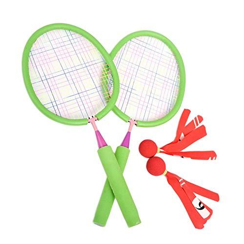 T Spielzeug Kinder Battledore Baby Tennisball - Outdoor-Sport Kid Badminton Eltern-Kind Spielzeug