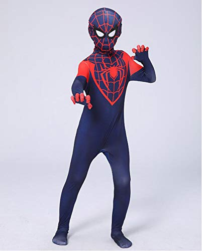 wdegr Super Spiderman Kostüm Kind Cosplay Party Kostüm Halloween Cosplay,XXXL (Kleinkind Muskel Mann Kostüm)