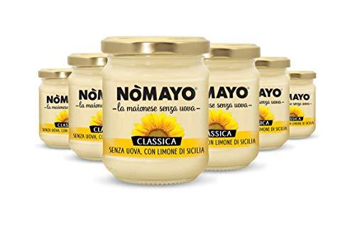 Nomayo C3500001 Maionese Classica Multipack 6 pz da 180 gr