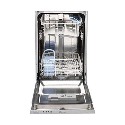 41yv fmMnGL. SS500  - Indesit DISR14B slimline 10 place Built-in Dishwasher