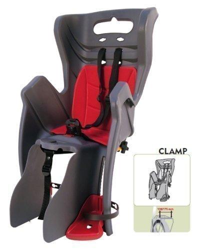 Bellelli Little Duck Clamp Grey/Grau Fahrradkindersitz für Gepäckträgermontage 01LTDM00002