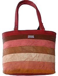 G Bags Women Stylish Handbag Fully Laminated (Modern Design),Multi-Coloured Yy65