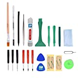 MMOBIEL 22-in-1 Professional Repair Tool Kit with Adhesive Stickers, Opening Tools, PVC Suction