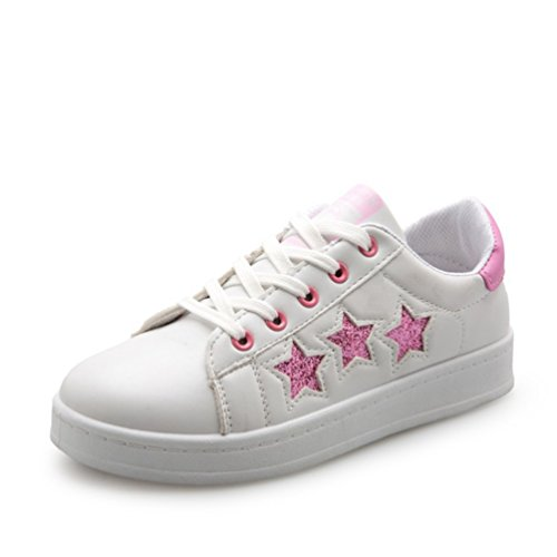 Frauen Kleine weiße Schuhe Sommer Casual Schuhe Frauen Wohnungen Schuhe Studentenbewegung Sport Schuhe