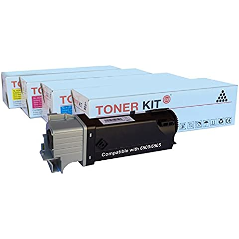 TONER KIT- PHASER 6500 - WorkCentre 6505 - PACK 4
