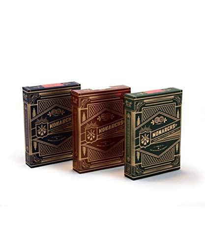 Theory 11 Monarch 3 Decks Set Playing Cards
