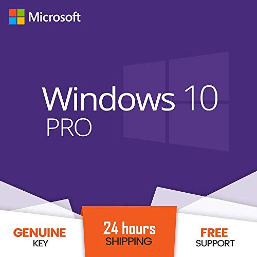 Price comparison product image Windows 10 Pro Key 32 / 64 Bits (E-mail)