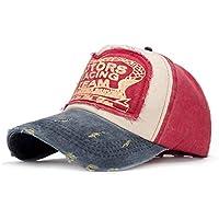 zkkpainting Gorra de Beisbol Sombrero Gorra de béisbol de Moda Sombrero para Hombres Mujeres Primavera Snapback Cap Sombreros Summer Cap Hip Hop Fitted Hats