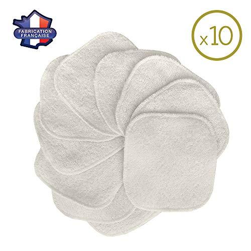 MODULIT 10 Discos Desmaquillantes Lavables Reutilizables