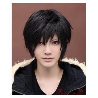 [Cosplay] wig Orihara Izaya (Isaiah Orihara) wind WIG costume accessory tool Durarara black hair heat high quality wig with net (japan import)