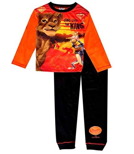 Disney - pigiama per ragazzi, motivo: re leone blaze black 7-8 anni