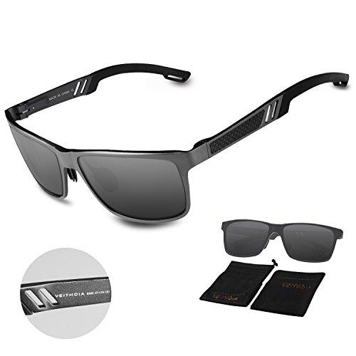 lunettes de soleil Polarized UV400 Sports Lunettes de soleil pour Outdoor Sports Driving Pêche Running Skiing Escalade Randonnée Convient pour les hommes et les femmes Vente bon marché (TJ-025) (F) c3SnT