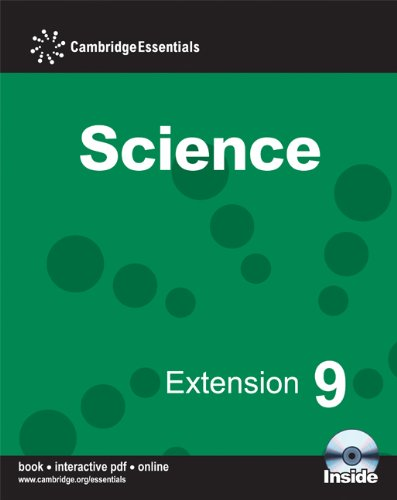 Cambridge Essentials Science Extension 9 Camb Ess Science Extension 9 w CDR