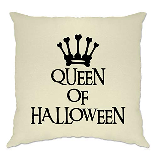 Tim And Ted Neuheit Spooky Kissenhülle Queen of Halloween Crown Natural One Size