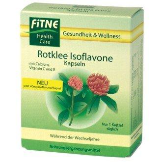 Fitne Rotklee Isoflavone Kapseln 60St.