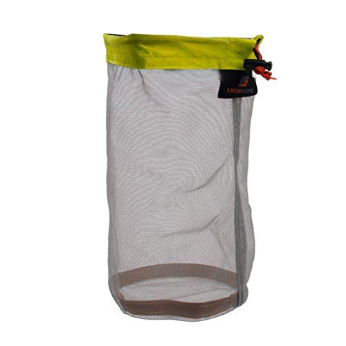 Sacos Ultra cosas malla son algunos de los sacos cosas más ligeras disponibles para organizar marchas en su mochila, maleta o bolsa. Utiliza una malla de nylon multifilamento avanzado muy poco desarrollado. Estos sacos cosas son más ligeros que s...