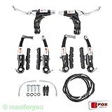 Fahrrad V-Brake Bremsen-Set Fox - Parts - Bremse (Schwarz)