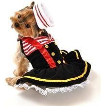 Animale domestico Cane Gatto matrose Bonbon Halloween regalo di natale costume vestito Outfit Abbigliamento XS–L