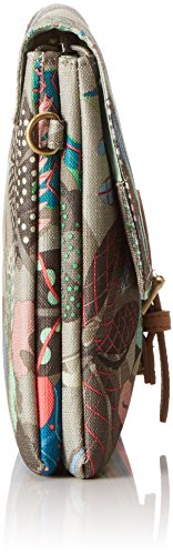 Oilily - Oilily M Flat Shoulder Bag, Borsa a tracolla Donna Multicolore