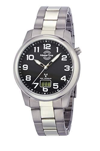 Master Time Funk Quarz Herren Uhr Analog-Digital mit Titan Armband MTGT-10651-50M