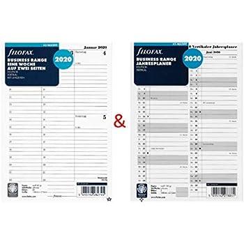 deutsch 2019 Filofax A5 19-68552 Professional 1 Tag // 1 Seite