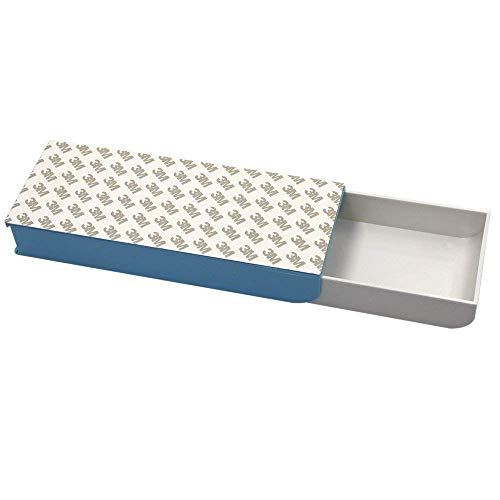 Bleistift Box–3m Automatische Pop-Up Stealth Schublade selbstklebend Bleistift Fall Blau