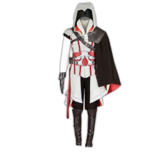 Dream2Reality Assassin's Creed Cosplay Kostuem - Assassin Outfit 2nd Ver Kid Size Large