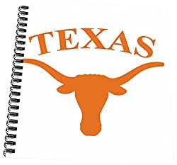 3dRose db_3085_3 Texas Longhorn-Mini Notepad, 4 by 4