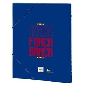 Futbol Club Barcelona- Carpeta Folio clasificadora, 260 x 365 mm (SAFTA 511729069)