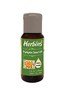 Herbins Pumpkin Seed Oil, 50Ml