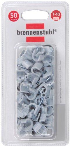 Brennenstuhl Nagelschellen für 7-10mm Leitungen, 1164400