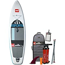 2016 Red Paddle Co 11'0 Sport Inflatable Stand Up Paddle Board + Bag, Titan Pump, Paddle & Leash