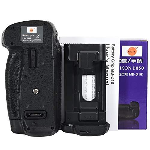 Digitale Slr-kamera-batterie (DSTE mb-d18Vertikaler Batterie-Griff für Nikon D850Digital SLR Kamera)