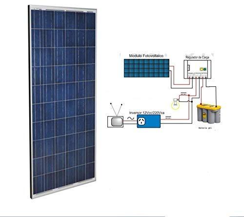 Placa fotovoltaica WccSolar de 270W de potencia para uso en instalaciones solares a 12v 24v y 48v.Gracias a 5 buses cada célula para producir la máxima eficiencia solar.Se ha fabricado mediante células de silicio policristalino de alto rendimiento. D...