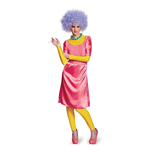 The Simpsons Patty Deluxe Adult Costume Large/X-Large (Marge Halloween Simpson)
