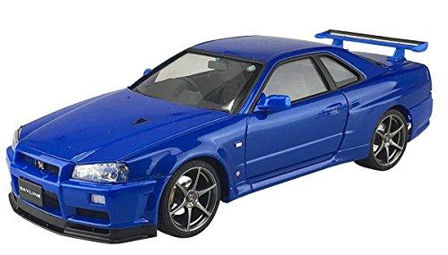 1/24 pre-series model paint No.31R34 Skyline GT-R V-SpecII (Bayside Blue) (japan import)