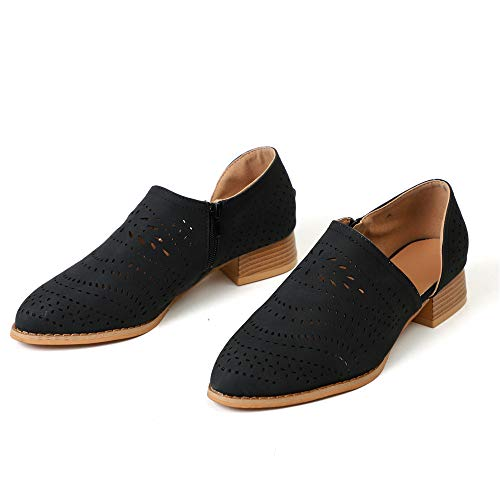 Zapatos de Vestir Mujer Planas Derby Transpirable Oxford Casual Fiesta Sandalias Primavera Verano Calzado...