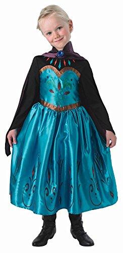 Disney Eiskönigin Kinder Kostüm Prinzessin Elsa Krönung (Kostüm Krönung Disney Elsa)