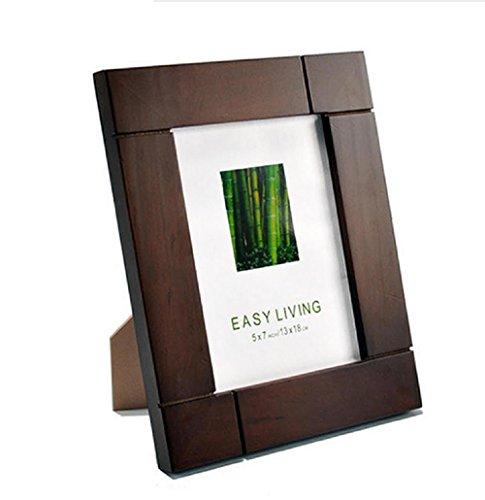 Preisvergleich Produktbild Xiuxiandianju Creative Vintage Photo Frame High Grade Solid Holz Bild Frames Great Home Decor (5 Zoll, 6 Zoll, 7 Zoll, 8 Zoll, 10-Zoll) , 6 inch
