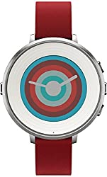 Pebble 14 Mm Time Round Smartwatch - Silverred