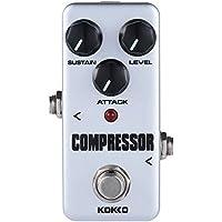 ammoon kokko Guitarra Pedal de Efectos fcp2Mini Compresor Portable Pedal