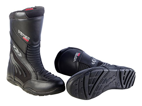 ViPER Rider  Motorcycle 856 Long Boot, Black, 43/9