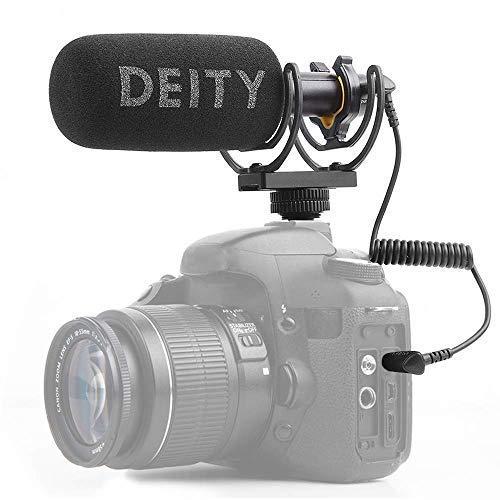 Deity V-Mic D3 Super-Niere Richtungs Schrotflinten Mikrofon mit Kalter Schuh Rycote Shockmount für DSLR-Kamera, Camcorder, Smartphones, Tablets, Handy-Recorder, Laptop- und Taschensender Rycote Hot Shoe