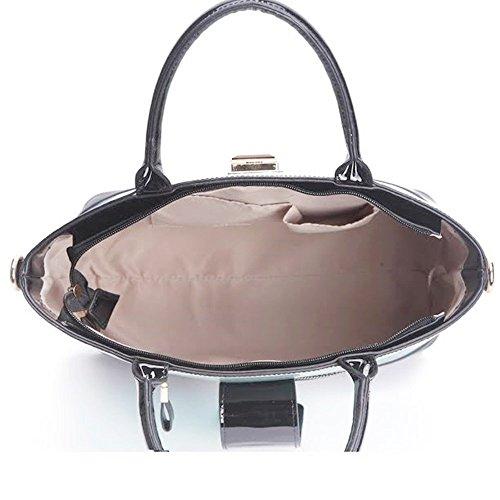 LeahWard Damen Kunstleder Qualitäts handtasche Frauen Mode lang Einkaufstasche Berühmtenart Qualität Taschen CWS00329 Licht Orange/Beige