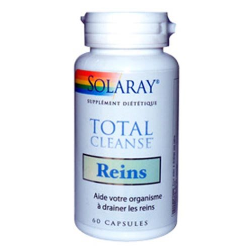 Solaray - Total cleanse reins - 60 capsules - drainage des reins
