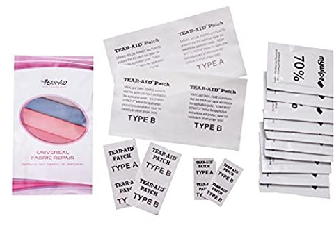 Tear Aid Kit de type A et B Bulk Patch pour universel tissu/vinyle répare