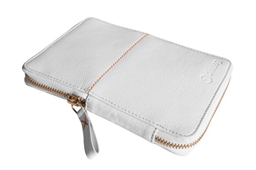 diabag Diabetiker-Tasche ONE Leder Rindnappa, Weiß, 101-2