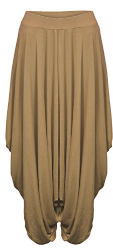 femmes-fronce-drape-sarouel-pantalon-bouffant-baggy-lagenlook-alibaba-moka-36-42-taille-unique