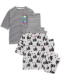 next Niñas Pack De Dos Leggings De Pijama Con Estampado De Oso Panda (3-16 Años)