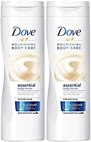 Dove Body Lotion Essential Nourishment, 2 X 250 ml